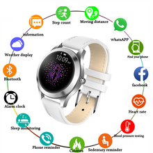 Women Smartwatch IP67 Waterproof Health Sport Heart Rate Bluetooth Message Remind V11 Smart watch Men For IOS Android