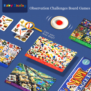 Baby shining Children's Hawkeye Board Games Foster Concentration Increase Reflexes Multiplayer Puzzles