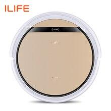 ILIFE V5s Pro пылесос-робот с сильным притяжением и ультратонким корпусом, влажная и сухая уборка, лучише пользовать для волос и твердого пола
