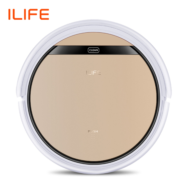 ILIFE V5s Pro Vacuum Cleaner Robot Sweep & Wet Mop Automatic Recharge for Pet hair and Hard Floor Powerful Suction Ultra Thin 1