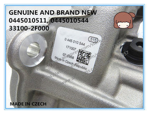 Image 4 - GENUINE AND BRAND NEW DIESEL COMMON RAIL FUEL PUMP 0445010511, 0445010544, 33100 2F000