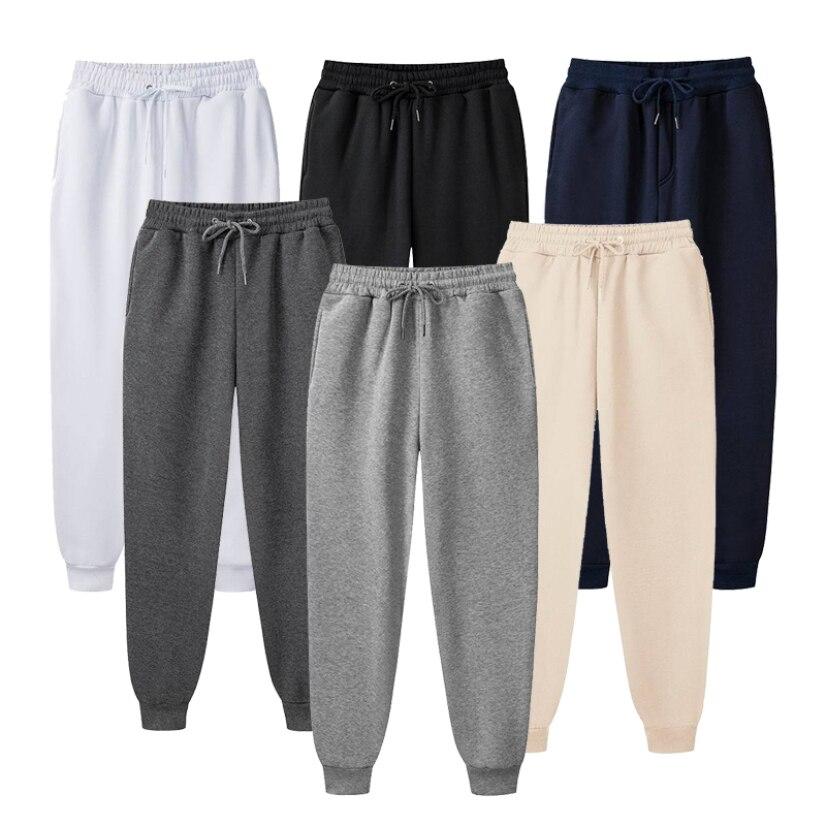 Мужские спортивные штаны для фитнеса, тренировок, бега, тренировок, мужские брюки для бега, мужские брюки с карманами, карандаш, со шнурком, о...