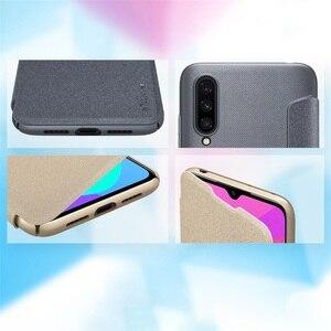 Image 3 - For Xiaomi Mi 9 Lite CC9 CC 9e Flip Case Cover Nillkin Sparkle super thin PU Flip leather Cover For Xiaomi Mi A3 Phone Bags