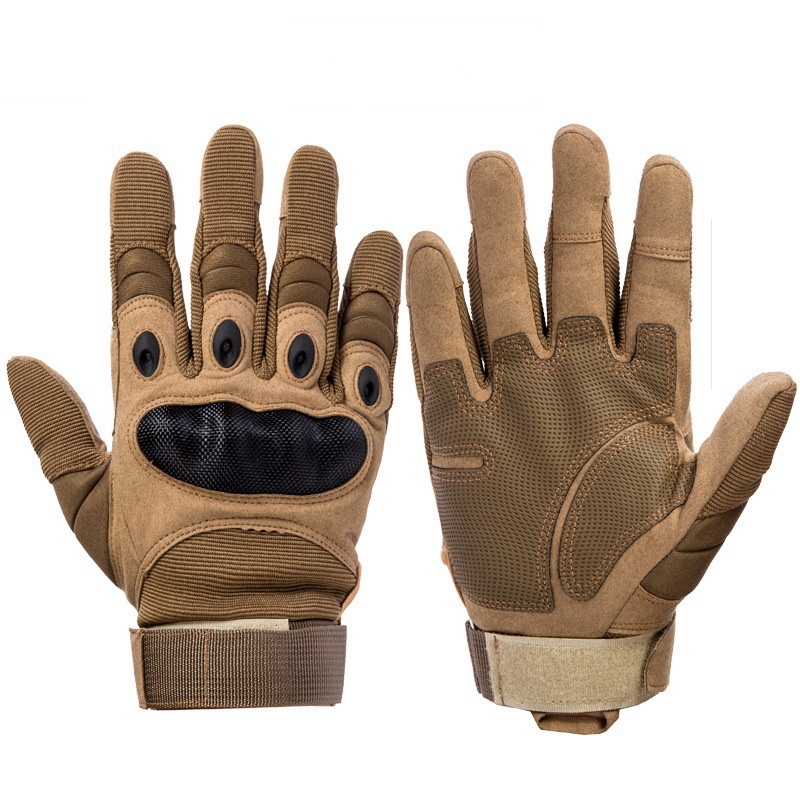 Army Military Tactical Gloves Paintball Airsoft Shooting Combat Anti-Skid Bicycle Hard Knuckle Full Finger Gloves Touch Screen
