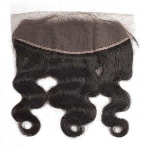 Image 5 - 人間の髪のバンドルフロントボディ波ショートナチュラルブラジルのヘアエクステンション織りpreplucked 3 バンドル黒人女性のための