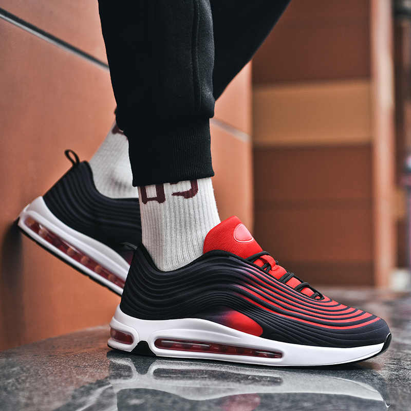 9 renk seçenekleri Ultralight Retro koşu ayakkabıları Sneakers kadın erkek Trend spor ayakkabılar eğitmenler yayı yastıklama spor ayakkabı adam erkek
