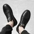 BVNOBET zapatos de hombre de cuero genuino nueva llegada Casual verano Slip On transpirable suave zapatos planos mocasines Homme Cuir verdadero