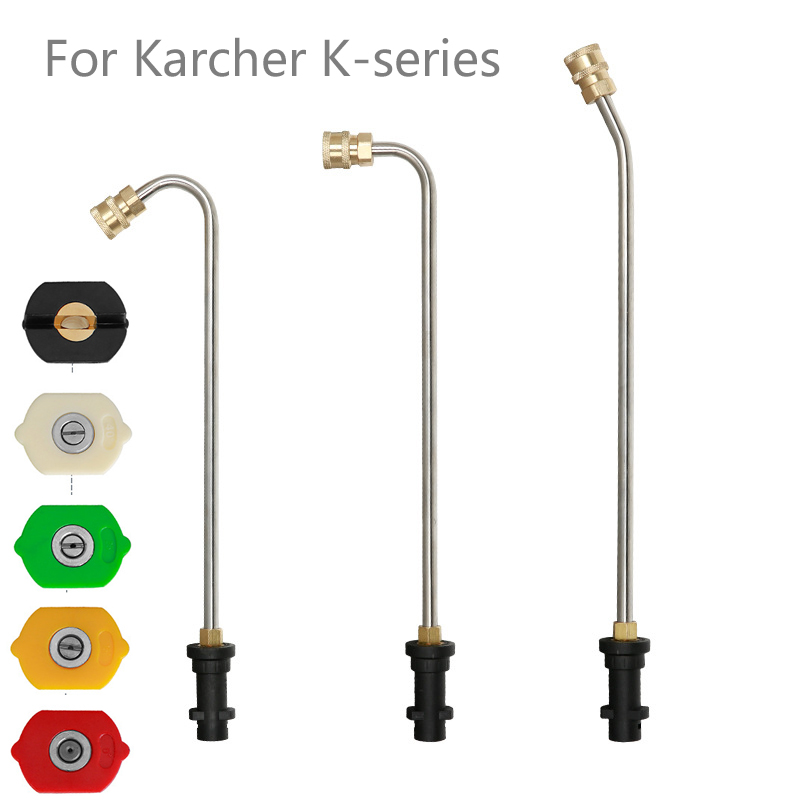 High Pressure Car Washer Metal Jet w//5 Quick Nozzle Tip for K Series