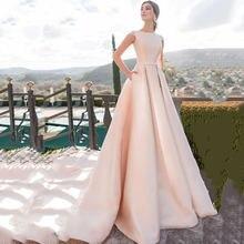 Eighree атласные свадебные платья с рукавом крылышком платье