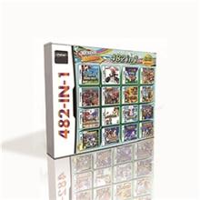 482 في 1 خرطوشة لعبة ساخنة ل DS 2DS 3DS لعبة وحدة التحكم مع جديد سوبر مارويد الأخوة كارت حفلة luigted الشركاء في الوقت المناسب