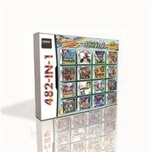 Cartouche de jeu 482 en 1 pour Console DS 2DS 3DS, avec nouveaux Super Marioed frères Kart Party, partenaires Luigied dans le temps