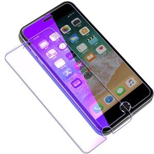 Image 5 - Chống Thủy Tinh Màu Xanh Trên Iphone 7 6S 5 5S Se 5C Đèn Tia Kính Cường Lực Dành Cho iPhone 7 8 Plus Cho Iphone X XS XR XS MAX Kính Màn Hình