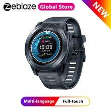 Zeblaze VIBE 5 PRO renk dokunmatik ekran Smartwatch kalp hızı çoklu spor izleme ile akıllı telefon bildirimleri WR IP67 izle