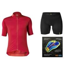 Cycling Jersey 2019 Pro Team Mavic Ropa Ciclismo Hombre Summer Short Sleeve Jerseys Clothing Triathlon Bib Shorts Suit