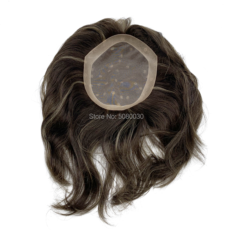 New Style Custom Made PIANO Color Women Toupee