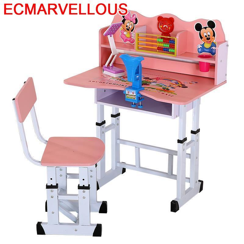 De Estudio Silla Y Mesa Infantiles Children Scrivania Bambini And Chair Pour Adjustable For Bureau Enfant Kids Study Table