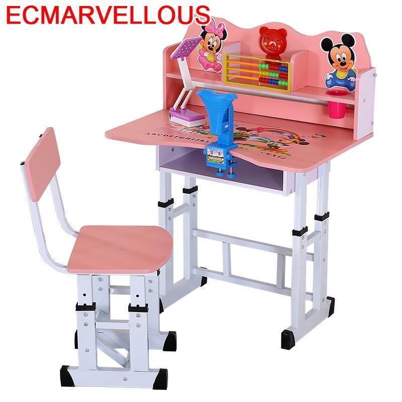 De Estudio Silla Y Mesa Infantiles Children Scrivania Bambini And Chair Pour Adjustable For Bureau Enfant Kids Study Table