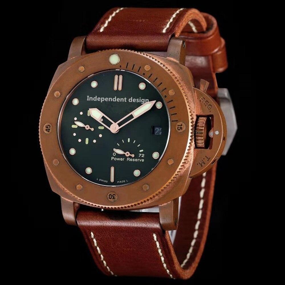 Men's Watch Top Brand Luxury Watch Automatic Mechanical Sports Watch Sapphire Glass All Steel Watch Retro Watch Mechanical Watches     - title=