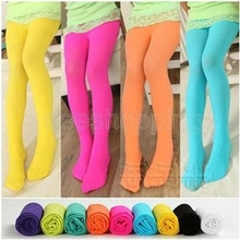 FEECOLOR 1 PAIR Winter Fashion Toddler Girls Kids Leggings Footed Tights Stockings Opaque Pantyhose Ballet Dance Pants Stretchy
