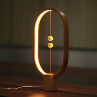 NEWKBO Magnetic Balance LED Night Light Balance Design Magnetic Switch Lamp Atmosphere Ambient Indoor Table Lamp Illuminations