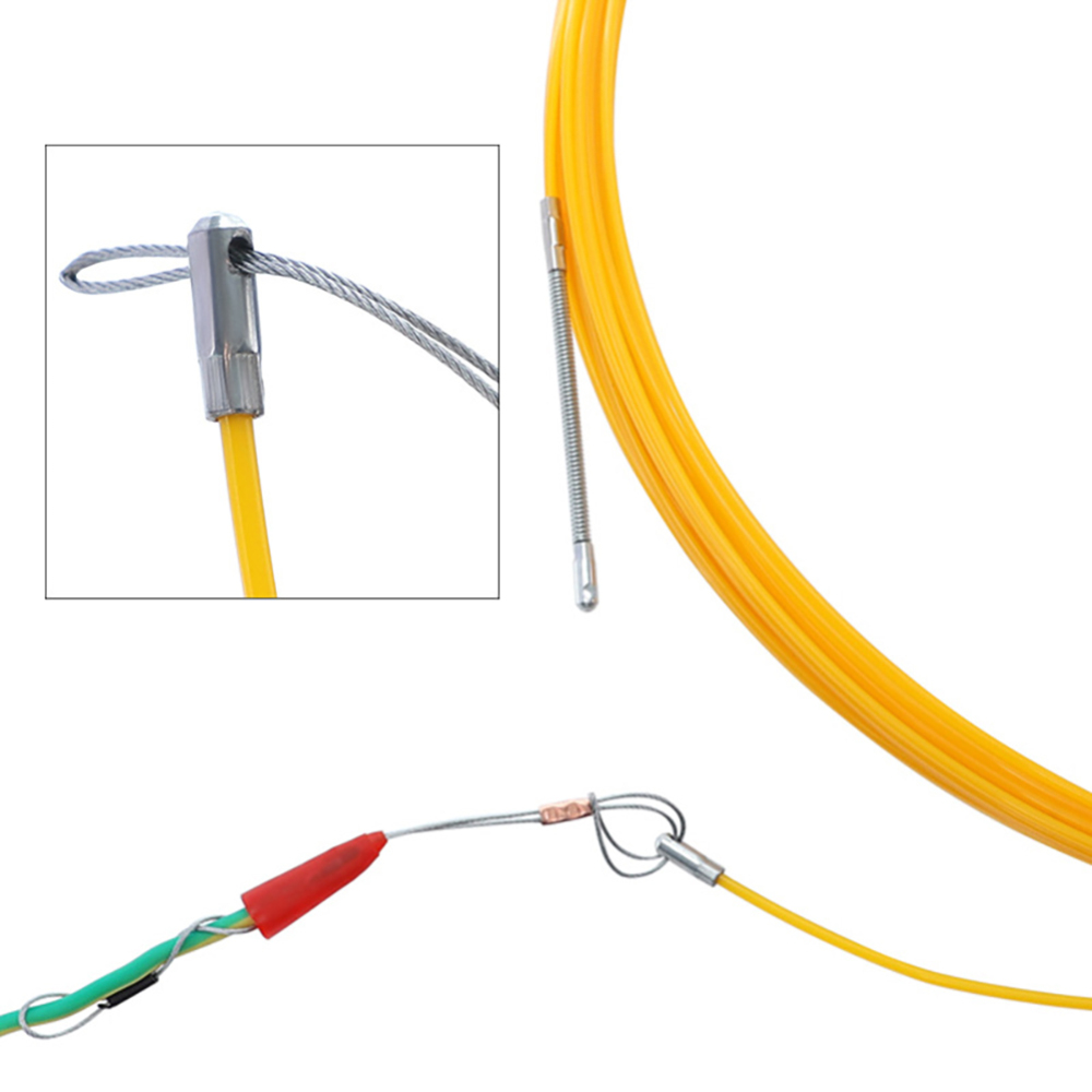 Электрическое устройство для нарезания резьбы 10 м/20 м/30 м/50 м кабель провода Съемник ведущий Сетевой электрический провод Нитевдеватель стр...