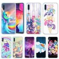 My Little Pony per il Caso di Samsung Galaxy A50 A20e A80 A70 A60 A40 A30 A10 M40 M30 M20 M10 A6 a8 + 2018 TPU Anime Copertura Del Telefono Casos