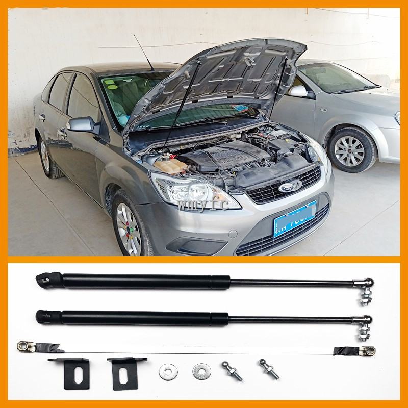 2005 2006 2007 2008 2009 2010 2011 For Ford Focus ACCESSORIES CAR BONNET HOOD GAS SHOCK STRUT LIFT SUPPORT CAR STYLING