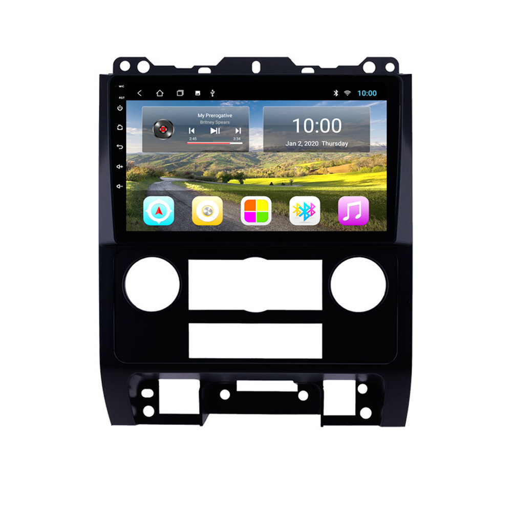 2 din Adroid 8.1 Car Radio Stereo WIFI <font><b>GPS</b></font> Navigation Multimedia Player head unit For <font><b>Ford</b></font> <font><b>Escape</b></font> 2007-2012 image