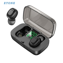 ETONE Touch Control  Bluetooth Earphone Wireless Headphones Handsfree HIFI Stereo Wireless Earbuds Headset With Microphone edal stereo foldable wireless bluetooth headphones earphone earbuds handsfree headset with mic microphone for iphone galaxy