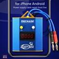 MONTEUR iBoot Doos voeding Test Kabel Moederbord voor iPhone Android Mobiele telefoon Batterij Reparatie Boot Lijn