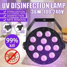 Ultraviolet UV Sterilizer Light Medical Disinfection Bactericidal Lamp Ozone Sterilizer UV Lamp Home Room LED Sterilizing Lights(China)