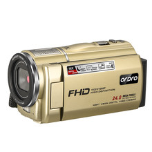 Câmera de vídeo câmara de vídeo vlog câmera ordro f7 filmadora hd completo 16x zoom digital câmeras de vídeo para vídeos do youtube