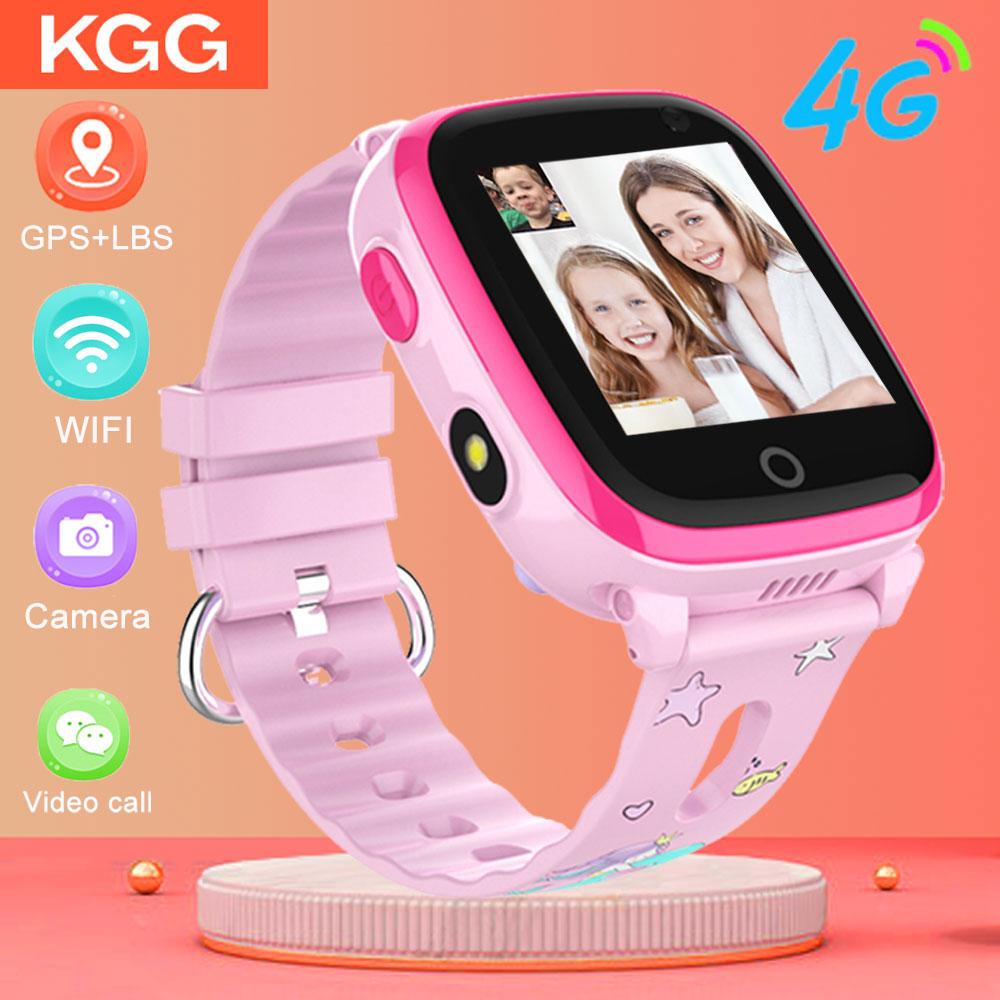 IP67 Waterproof Kids Smart watch 4G Remote Camera GPS WI FI Kids Children Students Wristwatch SOS Video Call Monitor Tracker|Smart Watches|   - AliExpress