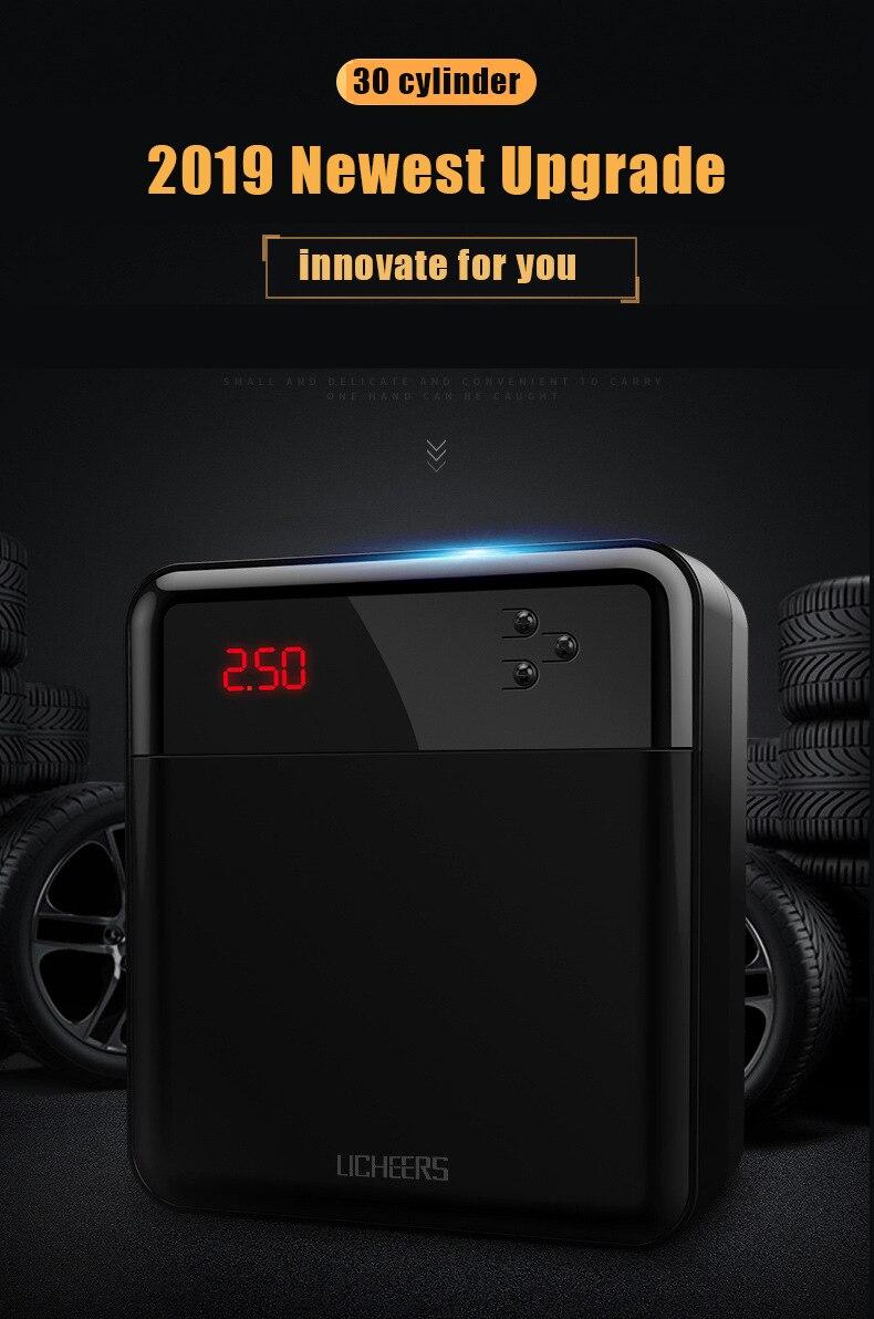 12 v digital pneu inflator bomba de