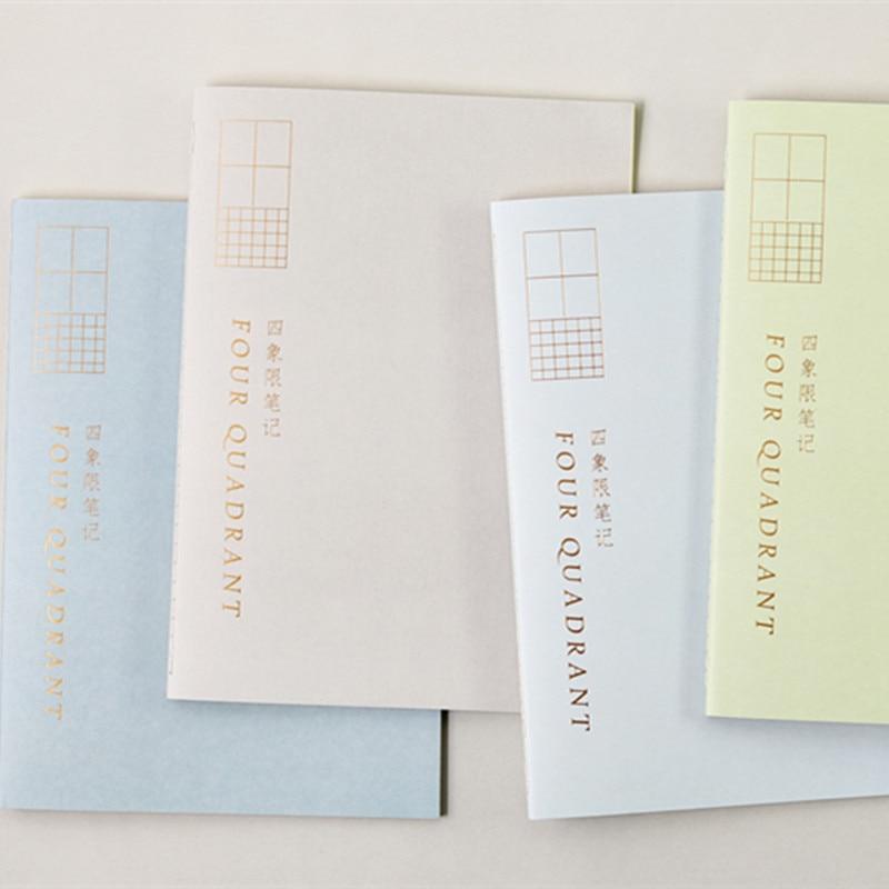 Joytop Ink Feature B5 Notepad Grid Lattice Cornell Four-Quadrant Notepad Notebook Wholesale Customizable