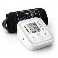 B02 Automatic Digital Upper Arm Blood Pressure Monitor Heart Beat Rate Pulse Meter Tonometer Sphygmomanometer pulsometer