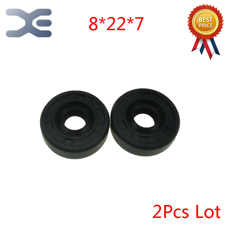 2Pcs Breadmaker Sorbet Machine Repair Parts  For LG Oil Seal Ring TC Inner Diameter 8 Outer Diameter 22 Thickness 7 Wearable