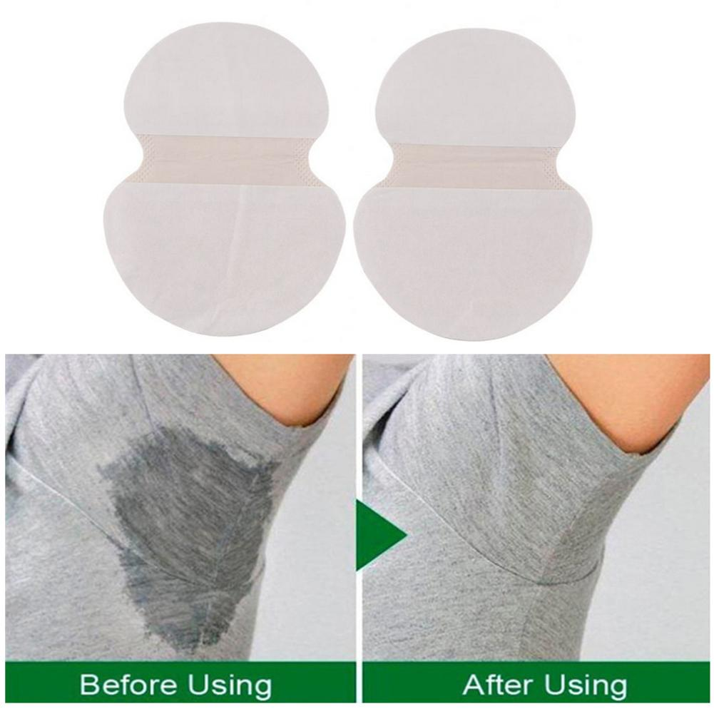 2Pcs Disposable Ultra-thin Pads For Underarm Gasket From Sweat Absorbing Pads For Armpits Linings Anti Sweat Stickers Wholesale