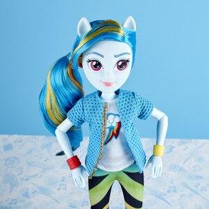 Image 4 - Jouets figurines My Little Pony 28cm, crépuscule, en PVC, jouets daction, modèle tarte Pinkie pour fille, cadeau danniversaire