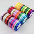 25yards/Roll (22 meters) Satin Ribbons for Wedding Birthday Party Gift Wrapping Christmas Halloween Festival DIY Crafts Ribbon