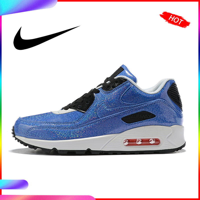 Original Authentic <font><b>Nike</b></font> <font><b>AIR</b></font> <font><b>MAX</b></font> <font><b>90</b></font> ESSENTIAL Women's Running <font><b>Shoes</b></font> Sneakers Outdoor Classic Sports New High Quality 881105-606 image