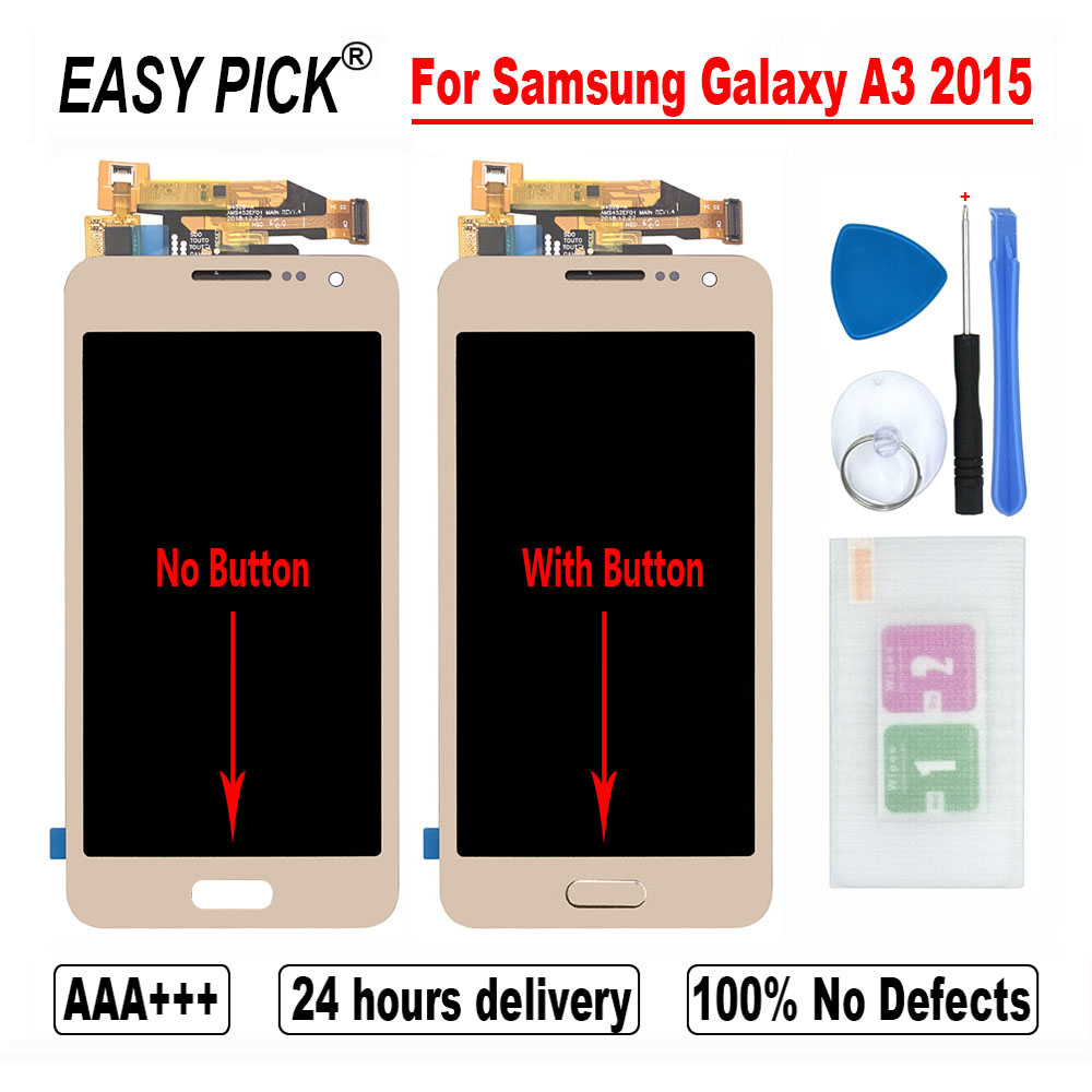 For Samsung Galaxy A3 2015 A300 A3000 A300F A300FU A300DS A300X A300F/DS A3000 LCD Display Touch Screen Digitizer Assembly(China)