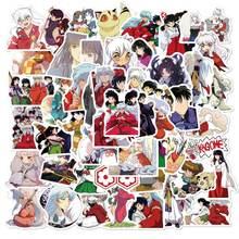50 шт в упаковке аниме inuyasha мультяшная наклейка s для сноуборда