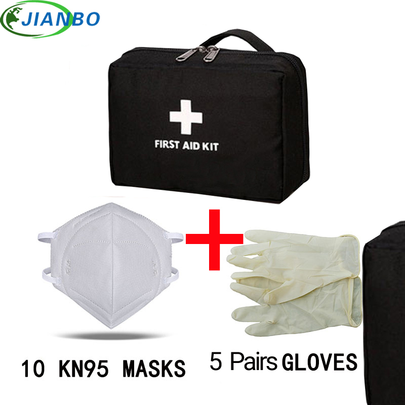 Person Portable Outdoor Waterproof First Aid Kit Bag For Family Travel Home Car Survival Emergency Kits Medicine Chest Treatment(China)