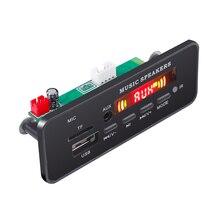 Decoder MP3 Wireless Bluetooth Board 5V 12V USB FM AUX TF SD Card MP3 Player Music Module Car Radio Speaker Remote Control DIY цена 2017