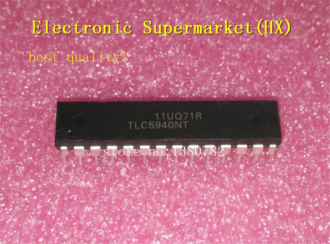 Бесплатная доставка 10 шт./лот TLC5940NT TLC5940 DIP 28 новый оригинальный IC в наличии!lot lotlot 10pcs   АлиЭкспресс