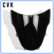 цена на CVK Motorcycle Windshield Windscreen For SUZUKI GSXR600 GSXR750 GSXR1000 GSX-R GSXR GSX 600 750 1000 R K1 K2 2000 2001 2002 2003