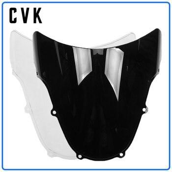 CVK Motorcycle Windshield Windscreen For SUZUKI GSXR600 GSXR750 GSXR1000 GSX-R GSXR GSX 600 750 1000 R K1 K2 2000 2001 2002 2003