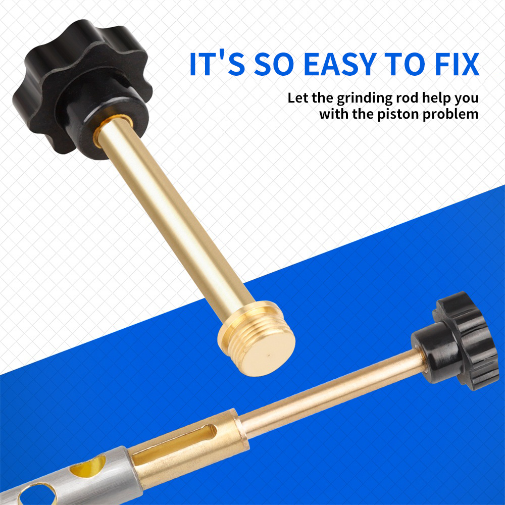 W7 Trumpet Piston Musical Instument Repair Tools Brass Maintain Helper Brass Grinding Rod Music Instrument Accessories