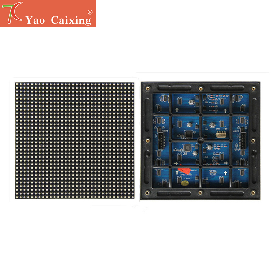 Factory Sales P6 Outdoor Cheapest Full Color Smd2727 Matrix Module Advertisement Led Display Screen Panel